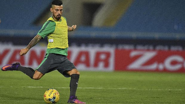Stefano Lilipaly kembali masuk skuat Timnas Indonesia.