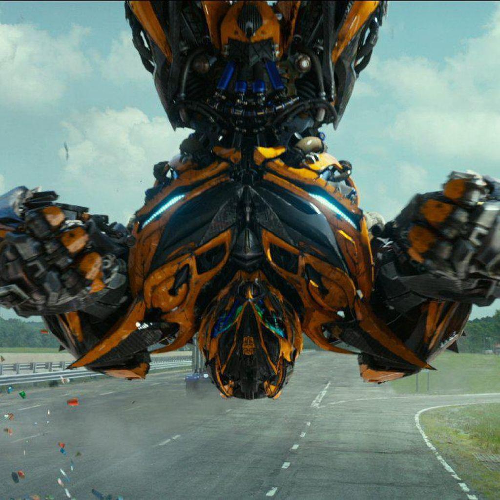 Hasrat Optimus Prime Bunuh Bumblebee di Trailer Baru Transformers