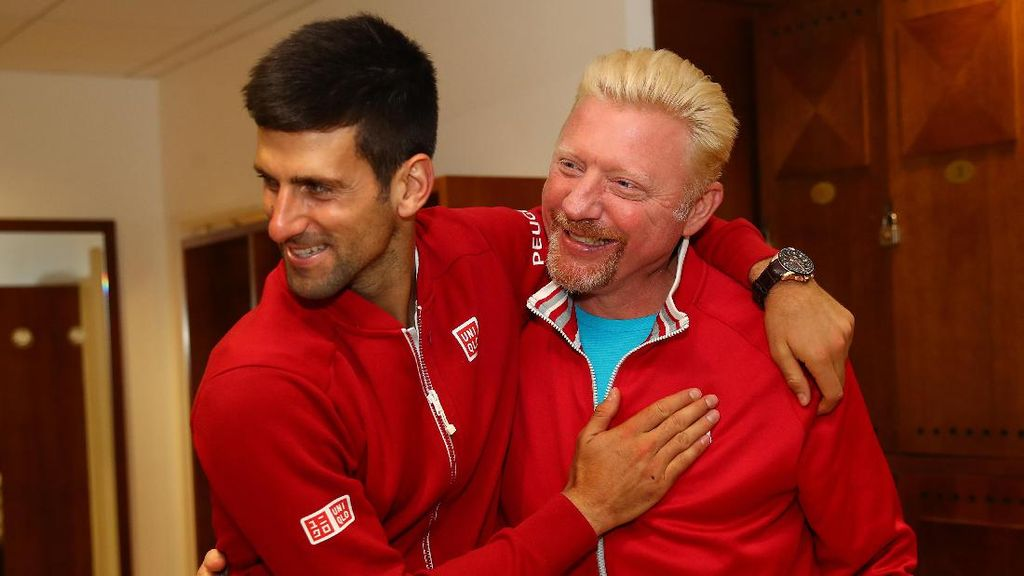Djokovic Pisah Jalan dengan Boris Becker