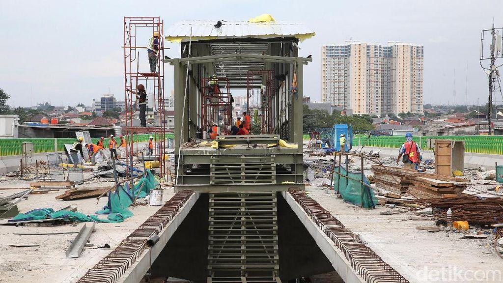 Pembangunan Halte Busway Tendean-Ciledug Dikebut