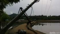 52 Tiang Roboh Pasca Gempa Aceh, Listrik di Pidie Jaya Masih Banyak Padam