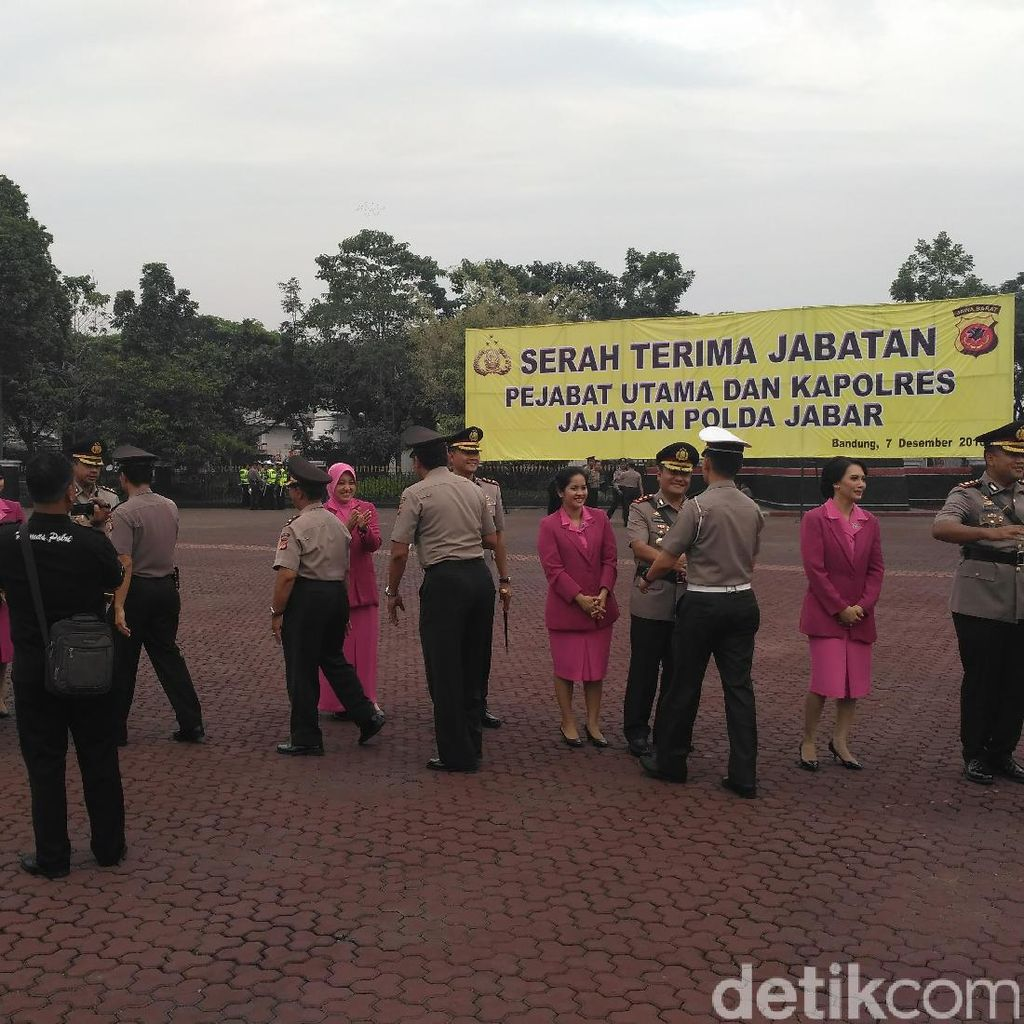 Sejumlah Pejabat Utama Polda Jabar dari Kapolres Hingga Wakapolda Diganti
