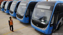 Melihat Lebih Jelas 23 Bus Baru TransJ Merek Zhongtong