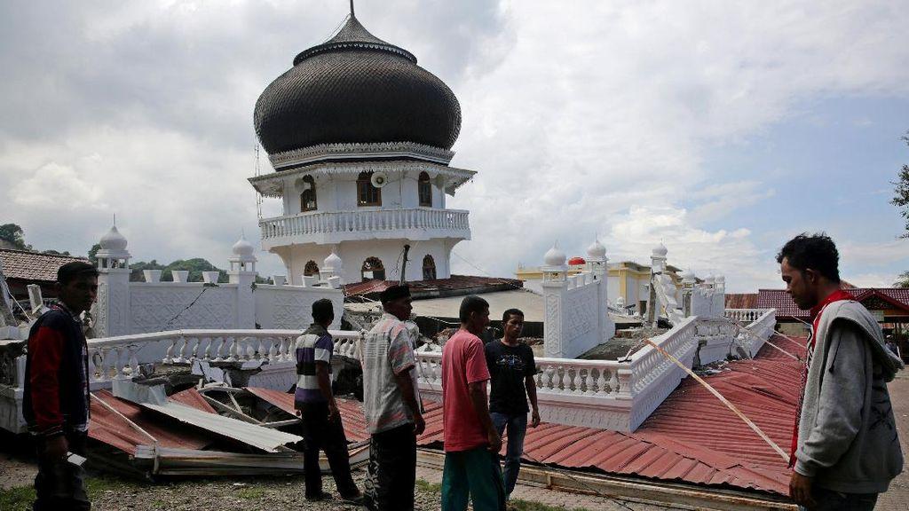 Gempa 6,5 SR, Ini Rincian Data Korban dan Bangunan Rusak di Aceh