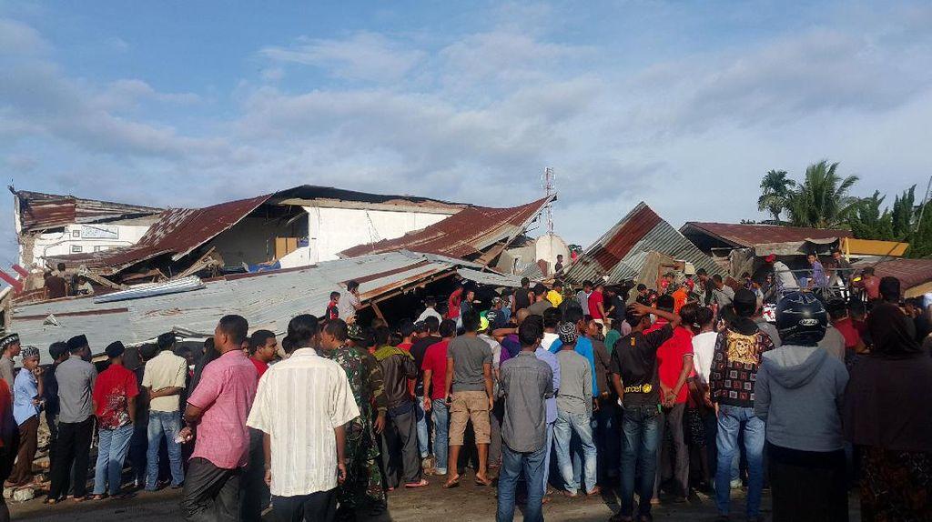 Gempa Aceh 6,5 SR, BNPB: 125 Rumah dan 14 Masjid di Pidie Jaya Roboh