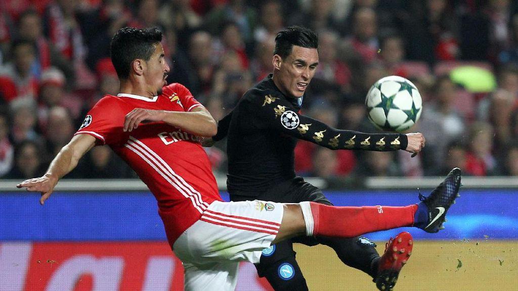 Kalahkan Benfica, Napoli Pastikan Lolos sebagai Juara Grup