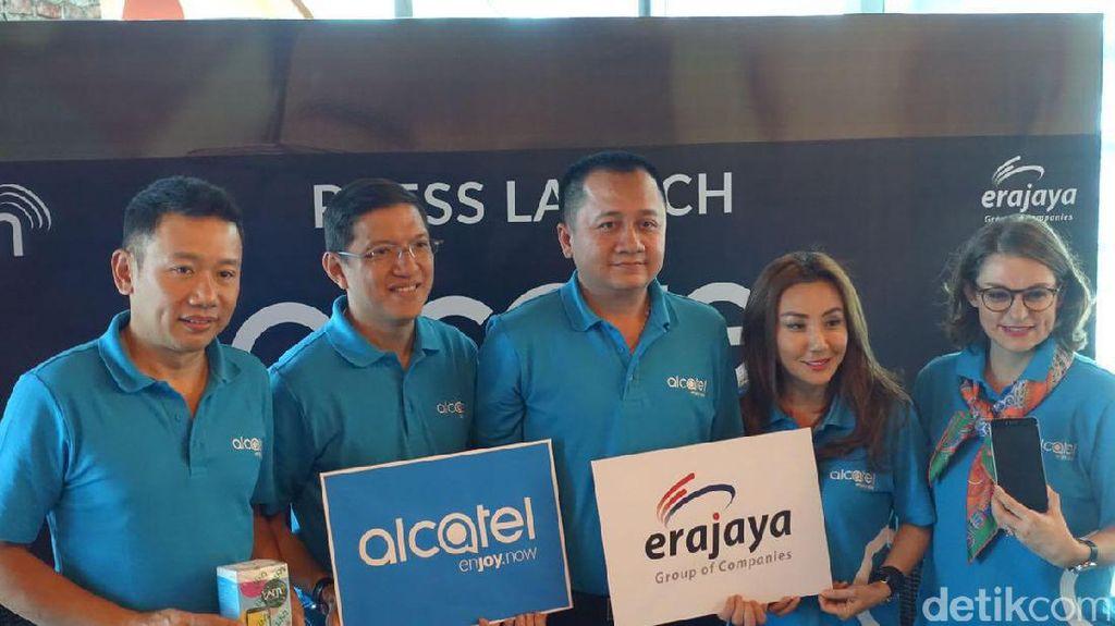 Kembali ke Indonesia, Alcatel Gandeng Erajaya