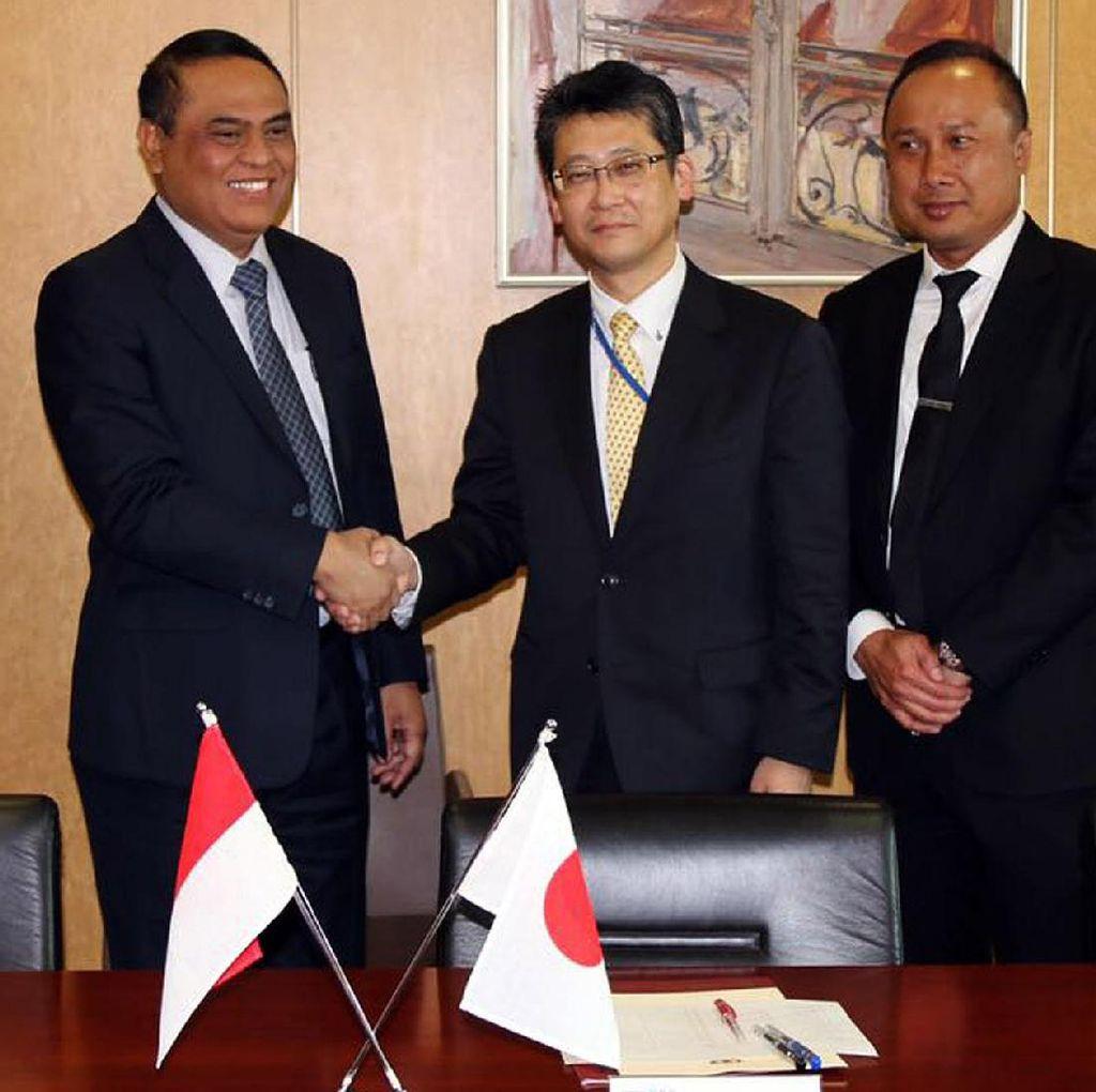Wakapolri Bertemu Commissioner General NPA Jepang