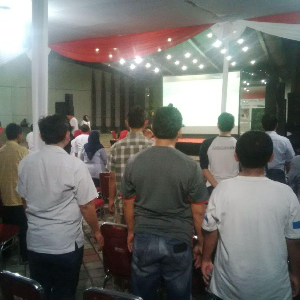 Kemenpora Gelar Nobar Indonesia vs Vietnam