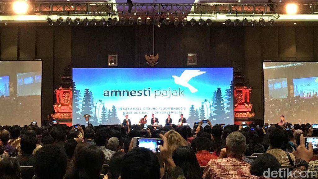 Baru 481.000 Wajib Pajak Ikut Tax Amnesty, Ini Respons Jokowi