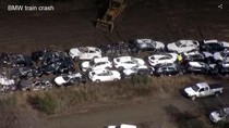 Kereta Pengangkut Anjlok, 120 Mobil BMW Rusak