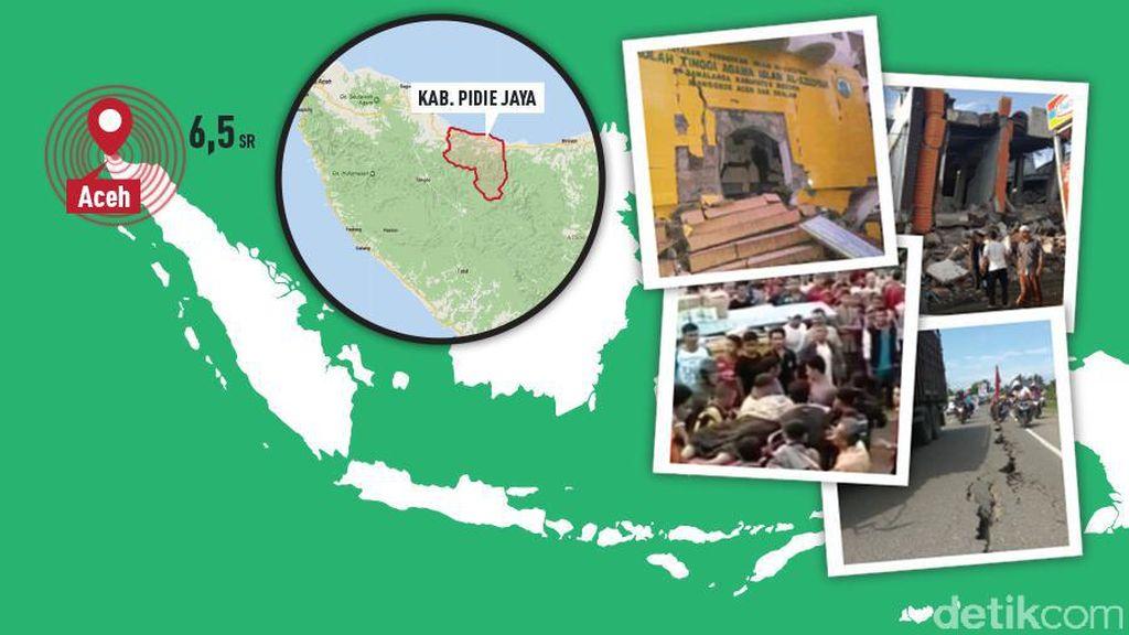 Gempa Aceh, BNPB Sebut Korban Tewas Capai 94 Orang