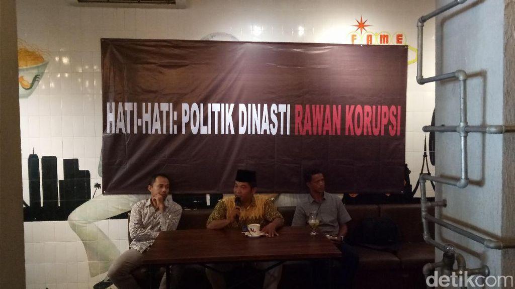 ICW: Dinasti Politik Rawan Korupsi, Hati-hati!