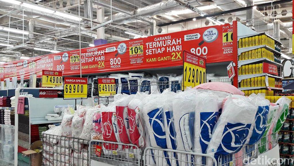 Diskon Sampai 60% Perlengkapan Tidur di Transmart Carrefour
