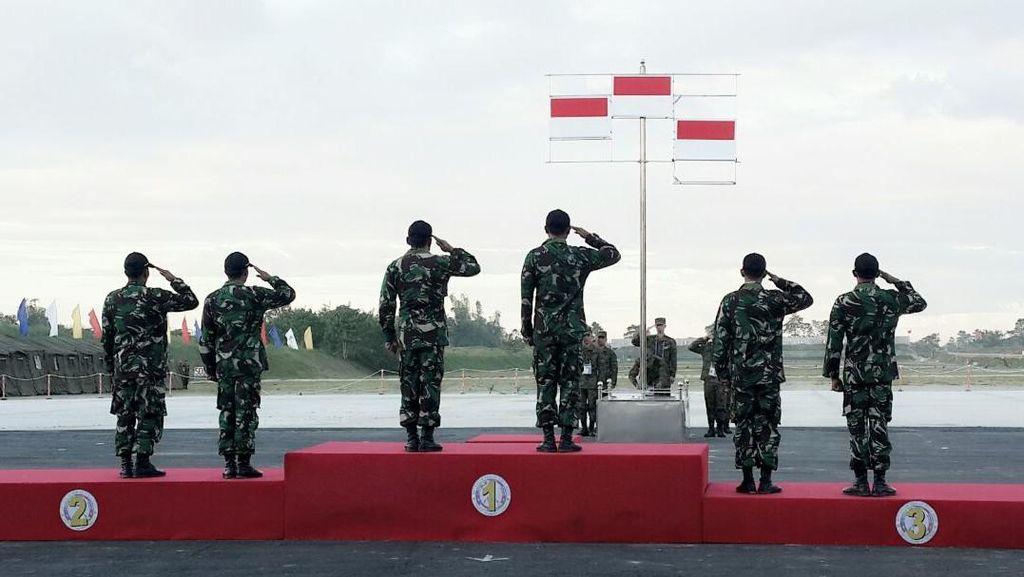 Membanggakan! TNI AD Kembali Jadi Juara Tembak Tingkat ASEAN