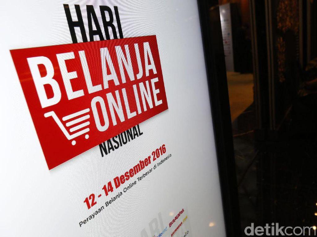 Pengiriman Barang JNE Naik 60% di Hari Belanja Online