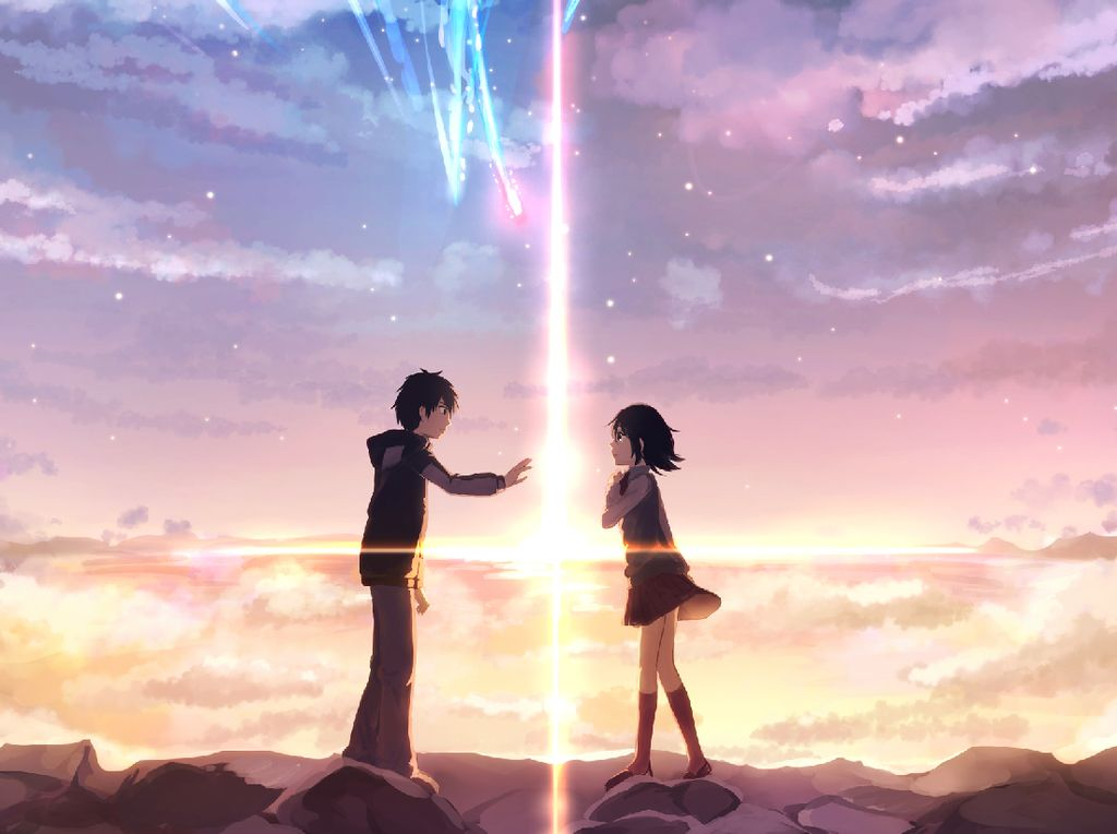 J.J Abrams Akan Produksi Live Action Film Animasi Your Name