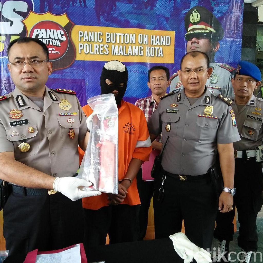 Aksi Penikaman di Malang Terungkap Berkat Panic Button