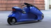 Motor Listrik Bongsor Ini Bernama GyroCycle