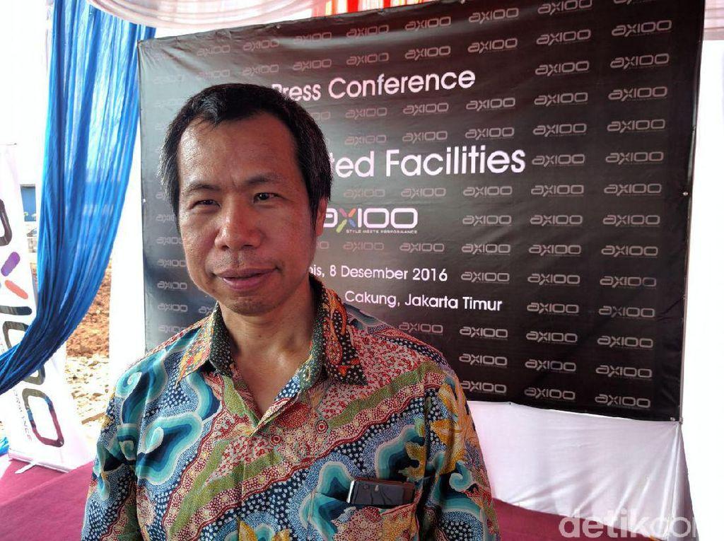 Ponsel Axioo Sudah Go International