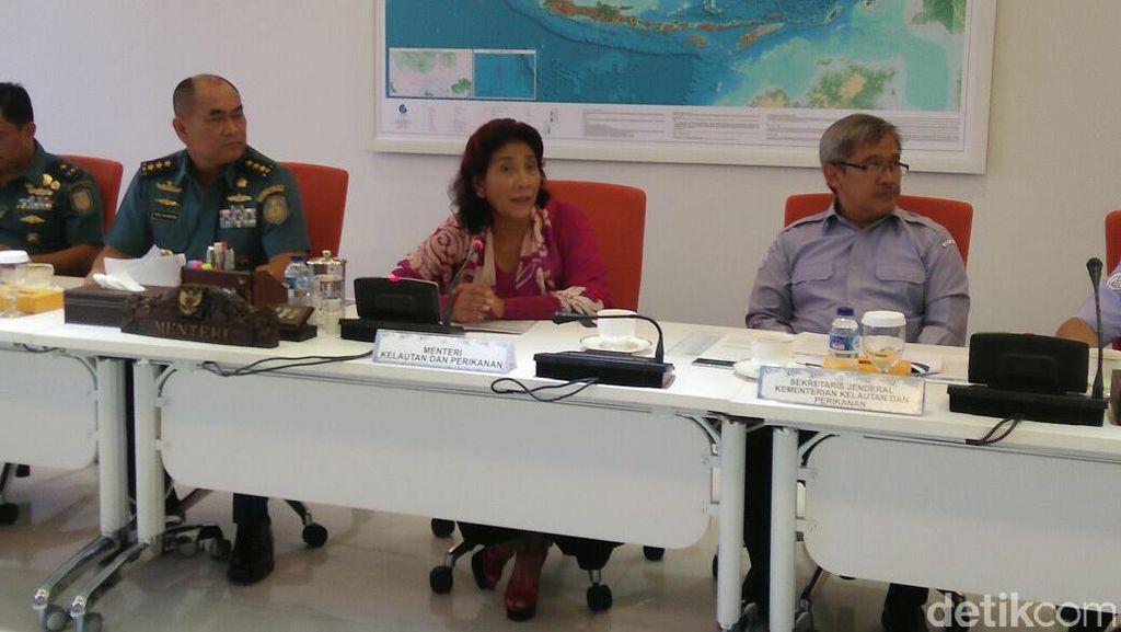 Susi Tangkap 122 Kapal Pencuri Ikan Sejak 17 Agustus 2016