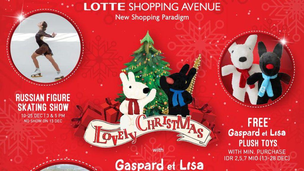 Menikmati Suasana Natal ala Paris di Lotte Shopping Avenue