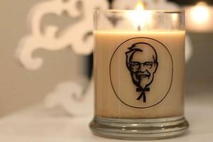 Wah, Enaknya Lilin Ini Tebarkan Aroma Nikmat Ayam Goreng KFC