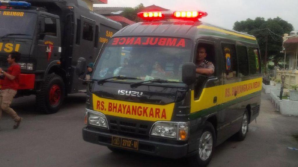 Bantu Penanganan Bencana Gempa Aceh, RS Bhayangkara Medan Kirim Tim Medis