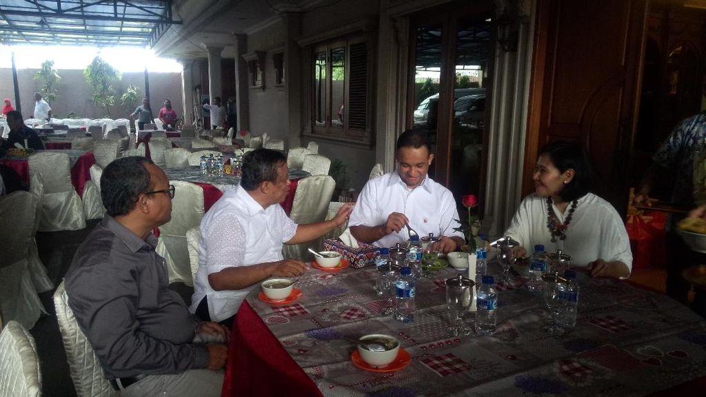 Di Rumah Djoko Santoso, Anies Paparkan 3 Program Unggulan
