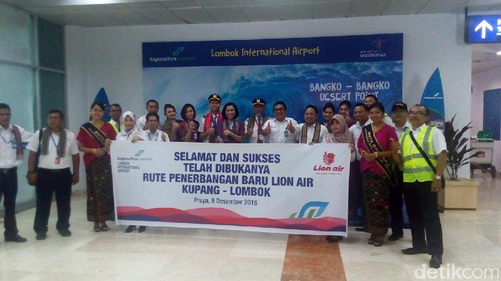 Sambut Liburan Panjang, Lion Air Buka Rute Baru dari Lombok ke Kupang