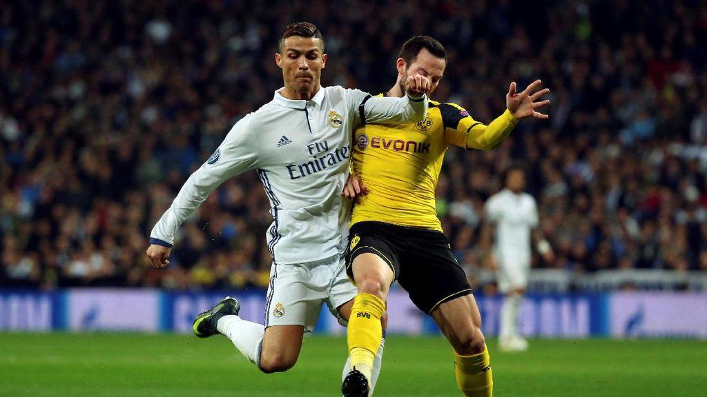 Diimbangi Dortmund 2-2, Madrid Gagal Juara Grup