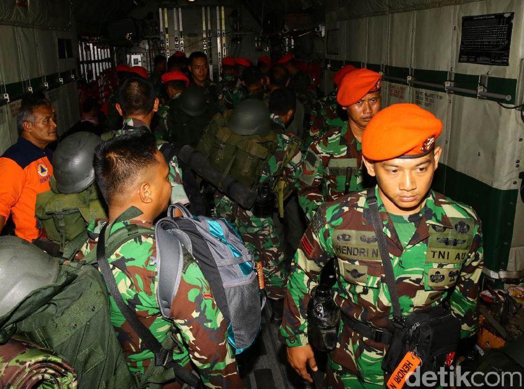 Pencarian Sriwijaya Air Jatuh, TNI AU Siagakan Heli-Pesawat dan Kopaskhas
