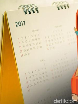 Ini Kalender Libur Nasional dan Cuti Bersama 2017