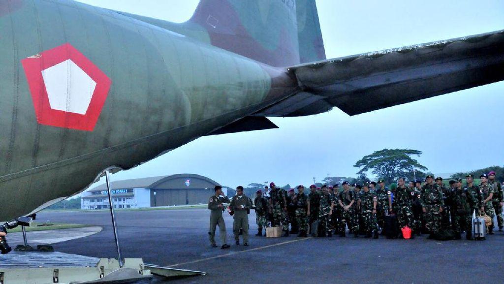 Bantu Korban Gempa, TNI Kirim Satgas dengan 3 Pesawat Hercules ke Aceh