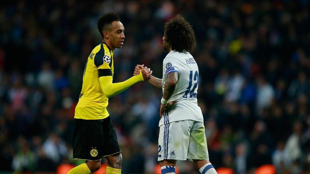 Dortmund Imbangi Madrid Bukan karena Aubameyang Semata