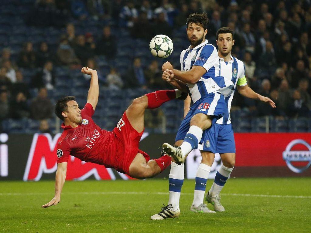 Porto Lolos Usai Libas Leicester Lima Gol Tanpa Balas