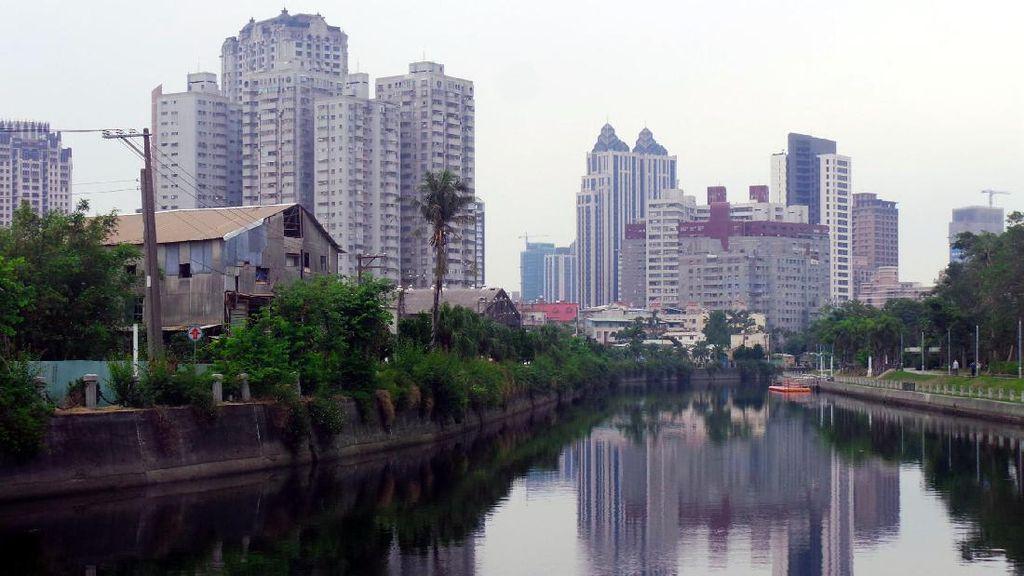 Ada Sungai Cinta di Taiwan, Romantis Banget!