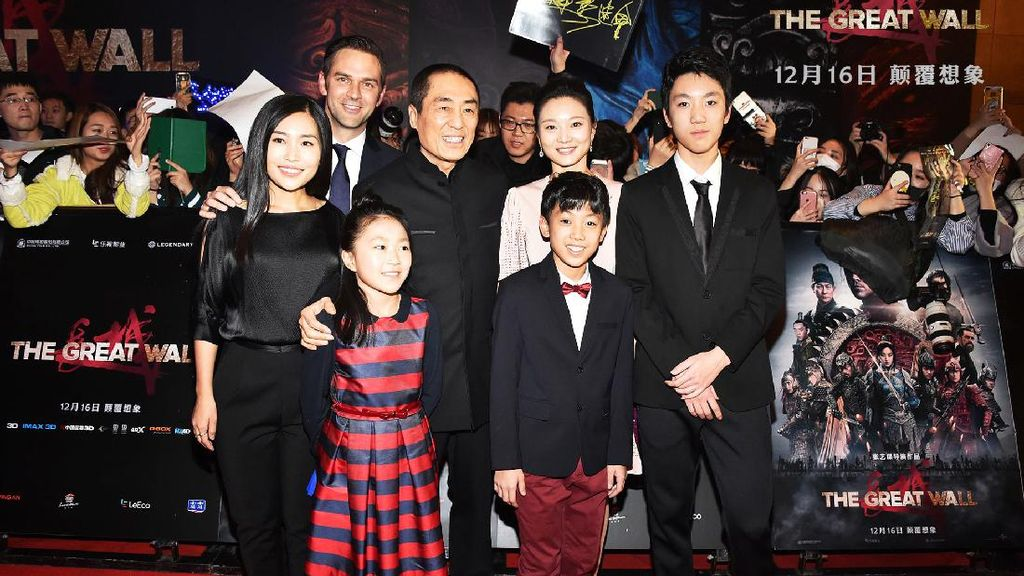 Sutradara Zhang Yimao Yakin Film The Great Wall Bisa Masuk Oscar