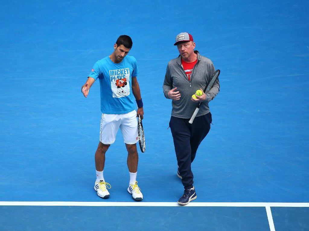 Boris Becker: Djokovic Tak Berlatih Sekeras Dulu