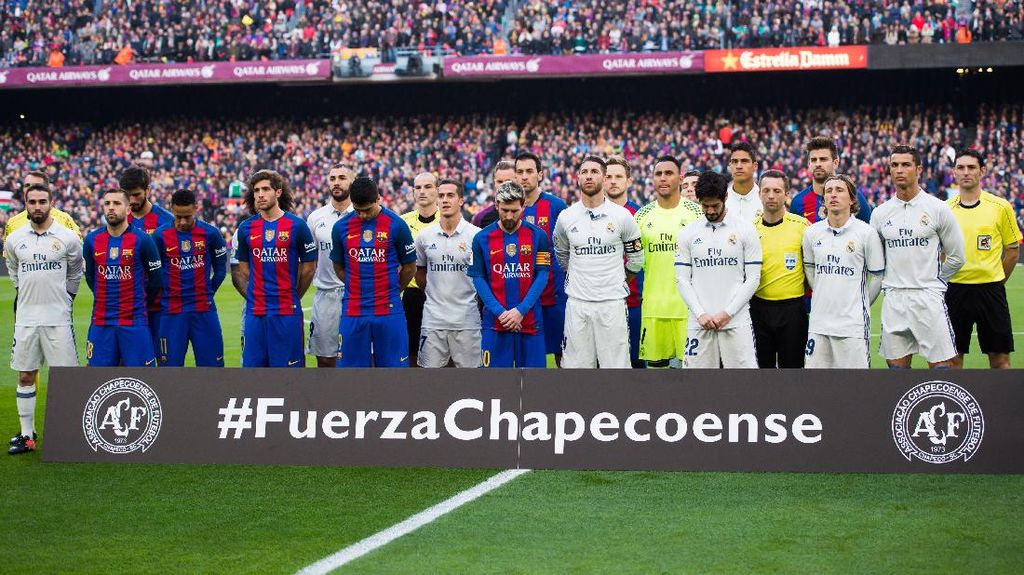 Barca Undang Chapecoense untuk Main di Trofi Joan Gamper 2017