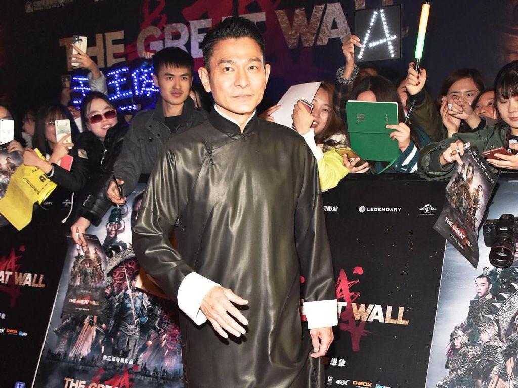Andy Lau Blak-blakan Soal Perannya di The Great Wall