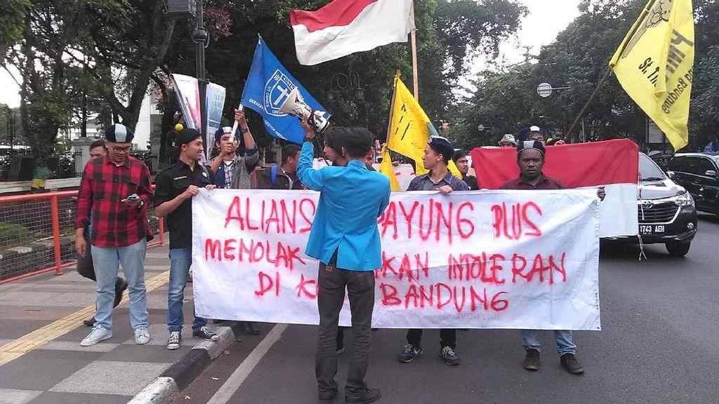 Mahasiswa Lintas Agama di Bandung Gelar Aksi, Minta Kemajemukan Dihormati