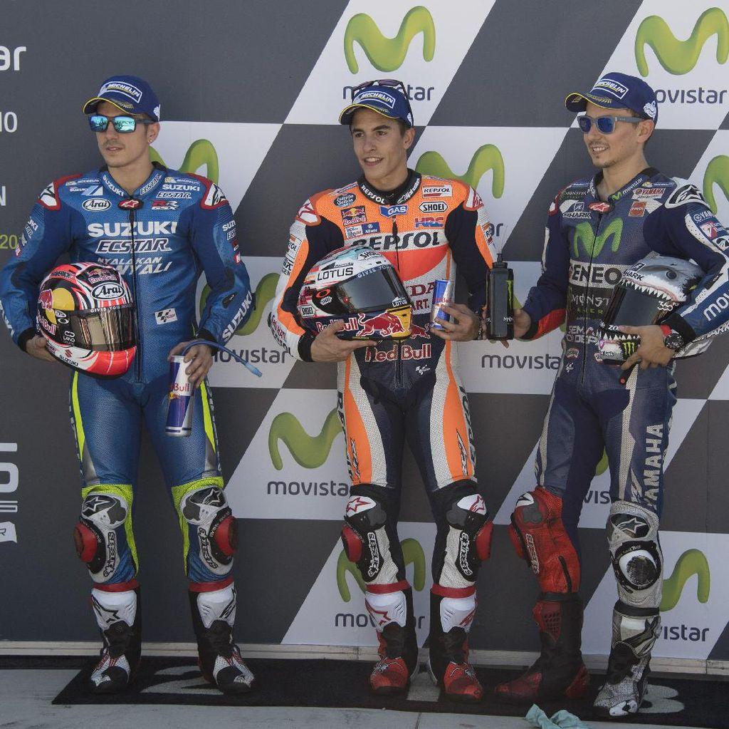 Marquez Bicara tentang Lorenzo, Vinales, Rossi, dan Iannone