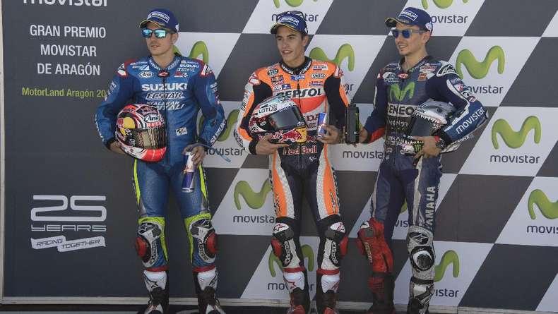 Lorenzo Sebut Vinales Punya Bakat yang Amat Mirip dengan Marquez