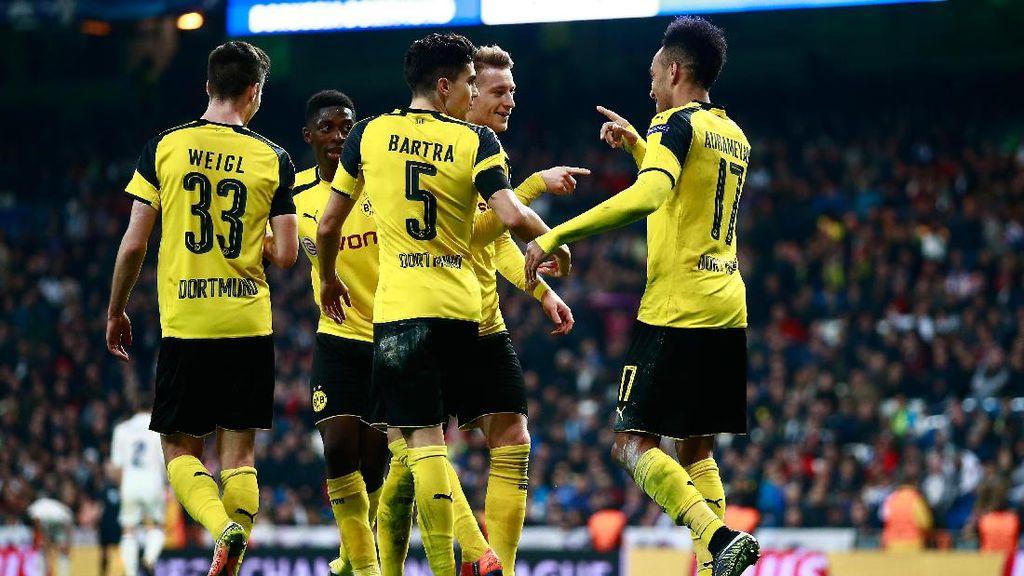 Cetak Gol Penyelamat Dortmund, Reus: 99% Jasa Aubameyang