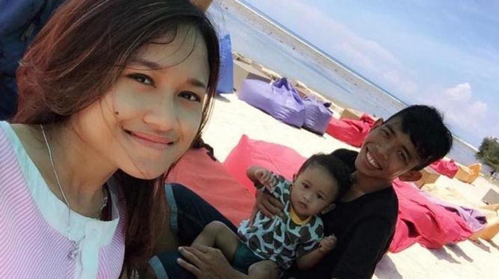 Pernah Ucap Talak 3, Dede Sunandar Ajak Istri Liburan ke Lombok