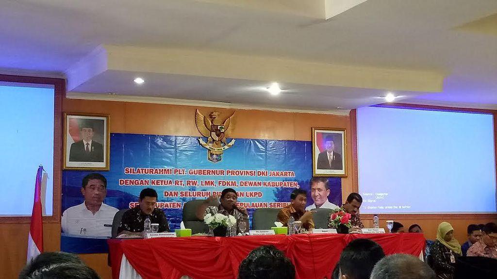 Plt Gubernur DKI: Jangan Sampai Pembangunan di Kepulauan Seribu Jadi Nomor Dua