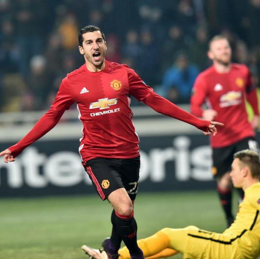 Gol yang Sudah Lama Dinantikan Mkhitaryan