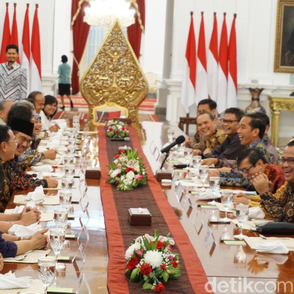 Jokowi: Masih Banyak Elemen HAM yang Belum Dilaksanakan