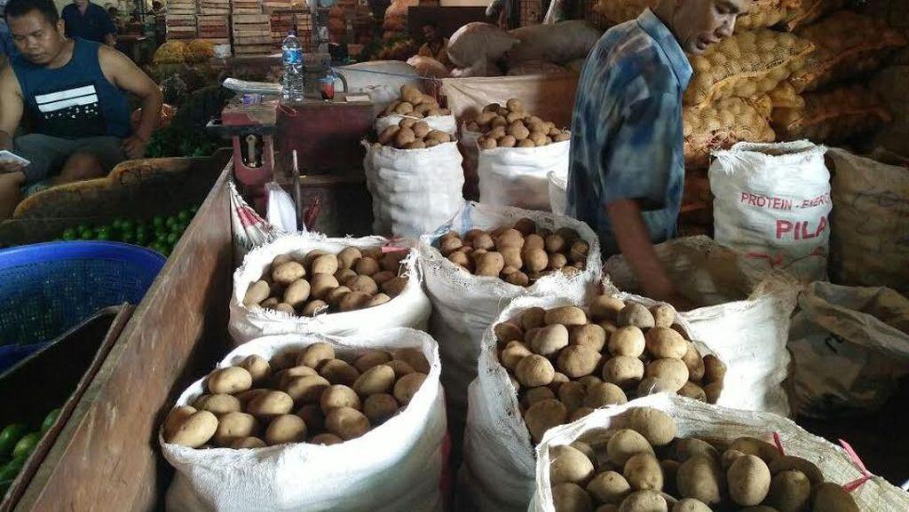 Kentang Impor Beredar di Pasar Tradisional, Kementan: Itu Ilegal